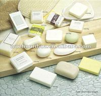 High grade hotel pure vegetable natural bath soap