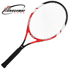 wholesale cheap custom red aluminium tennis racket set with cover for beginner and jurnior