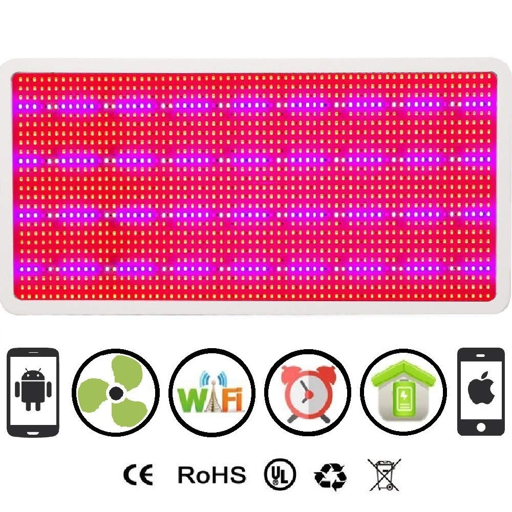 Cultivation Rx WiFi 3000W LED Smart 1600L Chip Grow Light Panel for Indoor Hydroponic Cultivation
