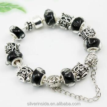 2015 New 925 Silver Chamilia Bead Charm Bracelet For Men ...