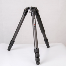 OEM factory 4 section lightweight professional carbon fiber tripod for camera