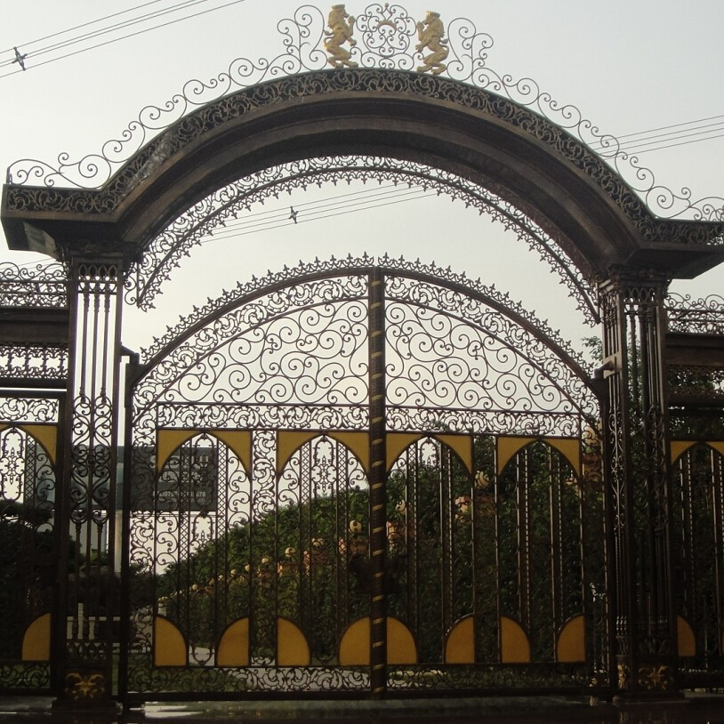 Beautiful House Main Iron Gate Designs,House Steel Gate Design ...