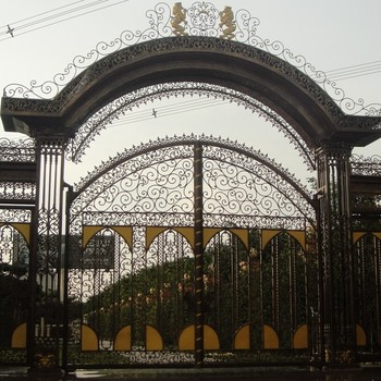 Beautiful house main iron gate designs house steel gate design buy cast steel rising stem - Beautiful house gates designs ...