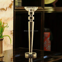 Wholesale elegant crystal candlestick for dating decoration / Candlelight dinner