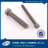 china top quality hardware SS harley motorcycle stainless steel hex head bolt