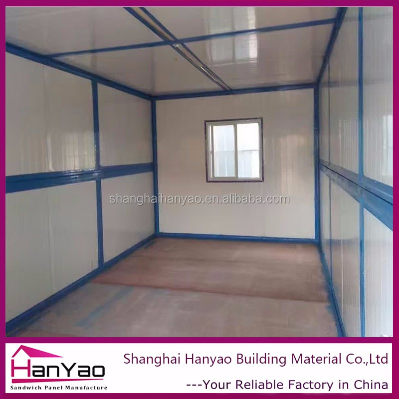Prefab Container House With Windows No Need Assemble
