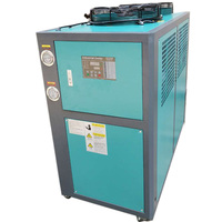 5hp air cooler industrial air cooled glycol chiller