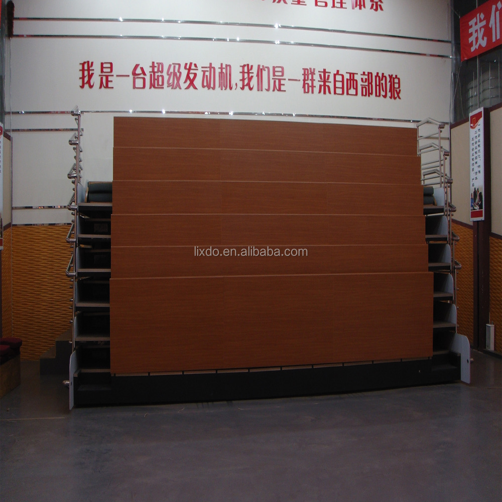 High quality wooden bench seating seats for sports audience