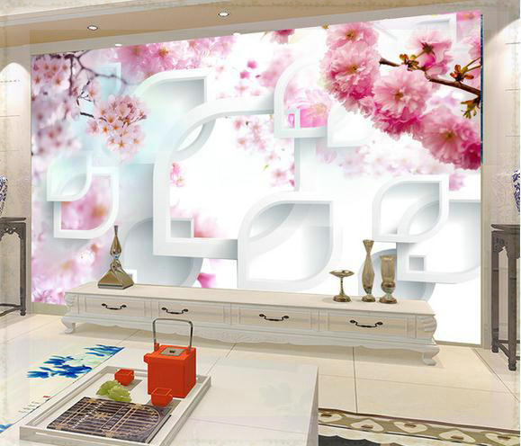 Eco Friendly Hot Selling Removable Beautiful Insulation Wallpaper Murals