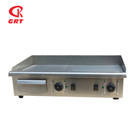High Quality Stainless Steel Tabletop Griddle GRT - E740-2