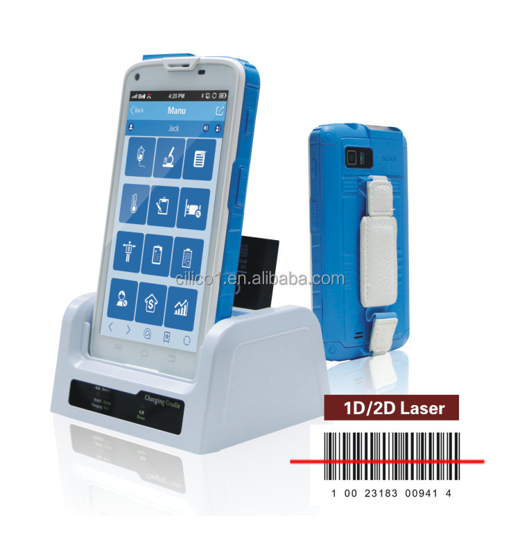 Android Rfid Reader Handheld Uhf Pda For Asset Tracking With ...
