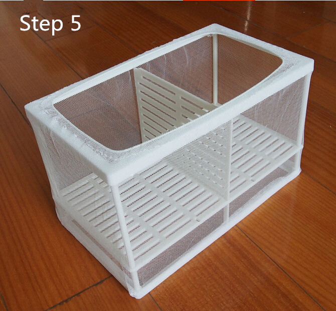 Aquarium Net Breeder Hatchery Breeding Separation Incubator Box ...