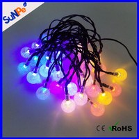 30 LEDs Holidays/Christmas Tree/Party Outdoor/Garden Decoration Crystal Ball/bulb covers Solar String Lights