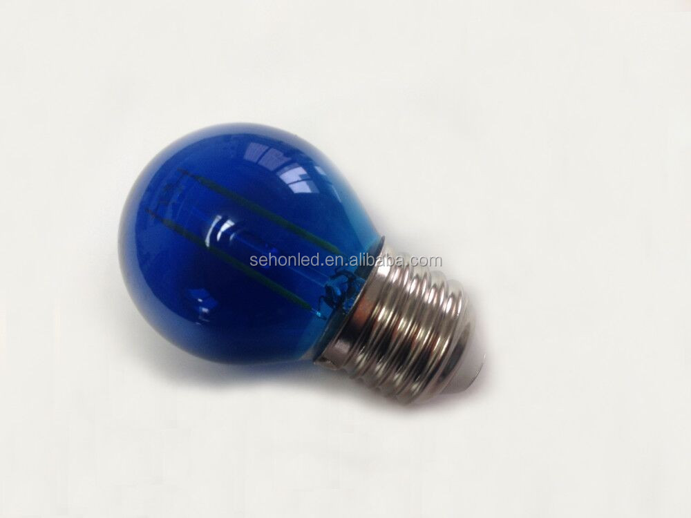 China Led Bulb SMD Chip Colored Globe Bulb Christmas decoration light