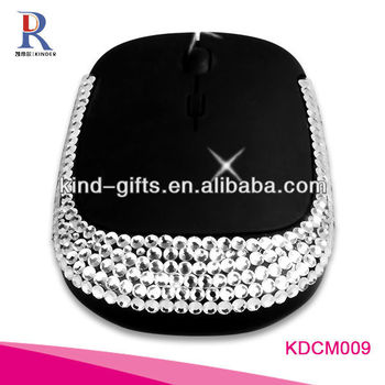 Usb Mouse With Diamond Design