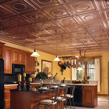 High Quality Polyurethane Moulding 301325 Copper Ceiling Tiles