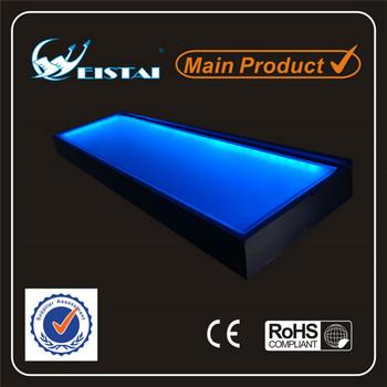 Glowing Led Shelf Using 600mm Smd3528 Led Strip And 8mm Acrylic ...