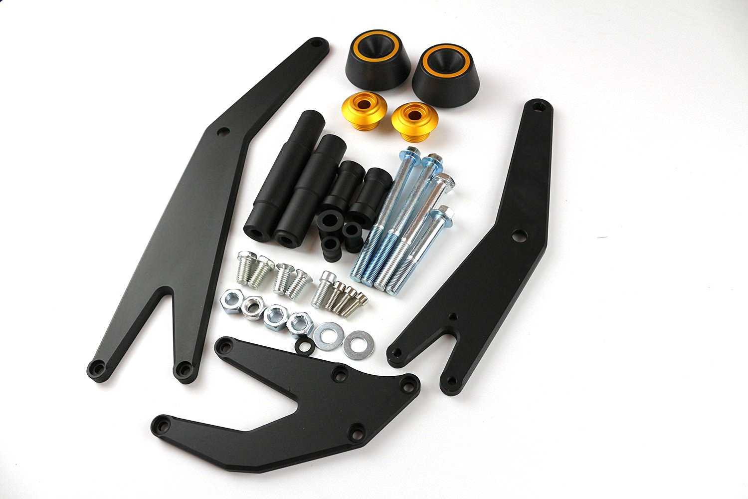 Motorcycle CNC Falling Crash Protector Frame Sliders Guard Mount Bracket Kit For Kawasaki NINJA300 NINJA250 ZX300 ZX250