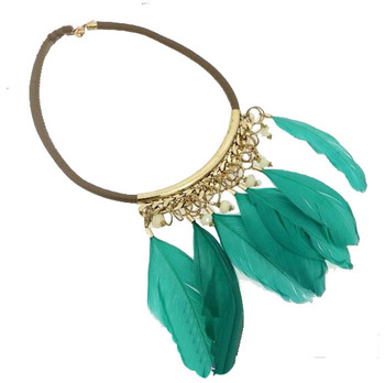 2016 Alibaba India Feather Necklace Fashion Necklace Wholesale Fashion Jewelry Buy Cheap