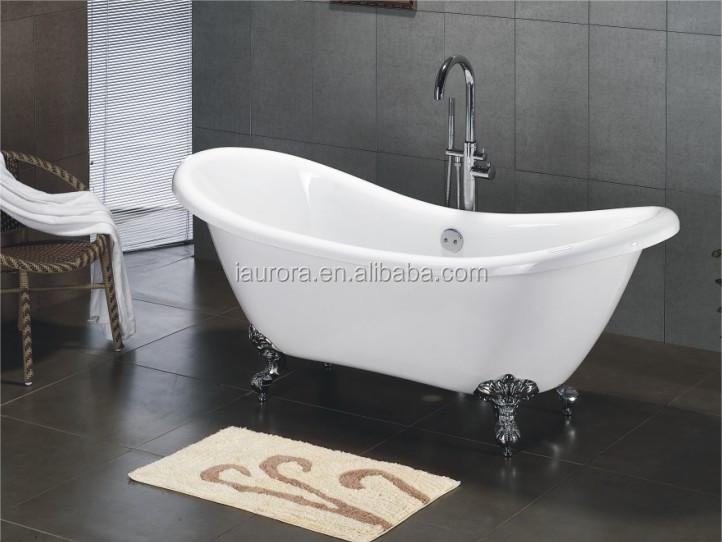 Hot Sale Cheap Vertical Clawfoot Bathtub For Freestanding