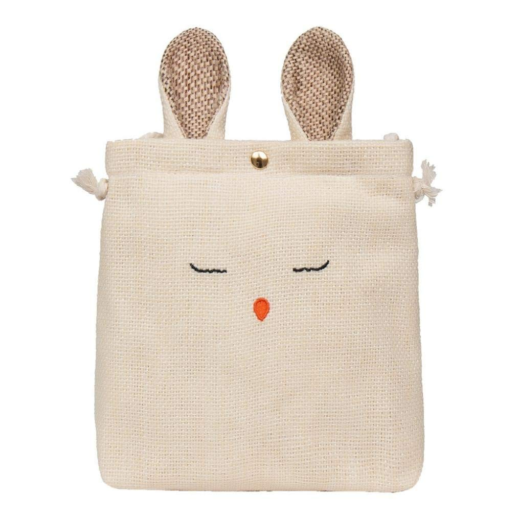 FitfulVan Clearance! Hot sale! Bags, FitfulVan Beach Bag Summer Cute Shoulder Messenger Straw Women Woven Oblique Grass Bag (Beige)