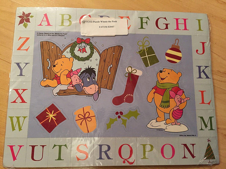 2M X 30Cm Baby Shower Host Winnie The Pooh Alphabet Triangle Flag Banner