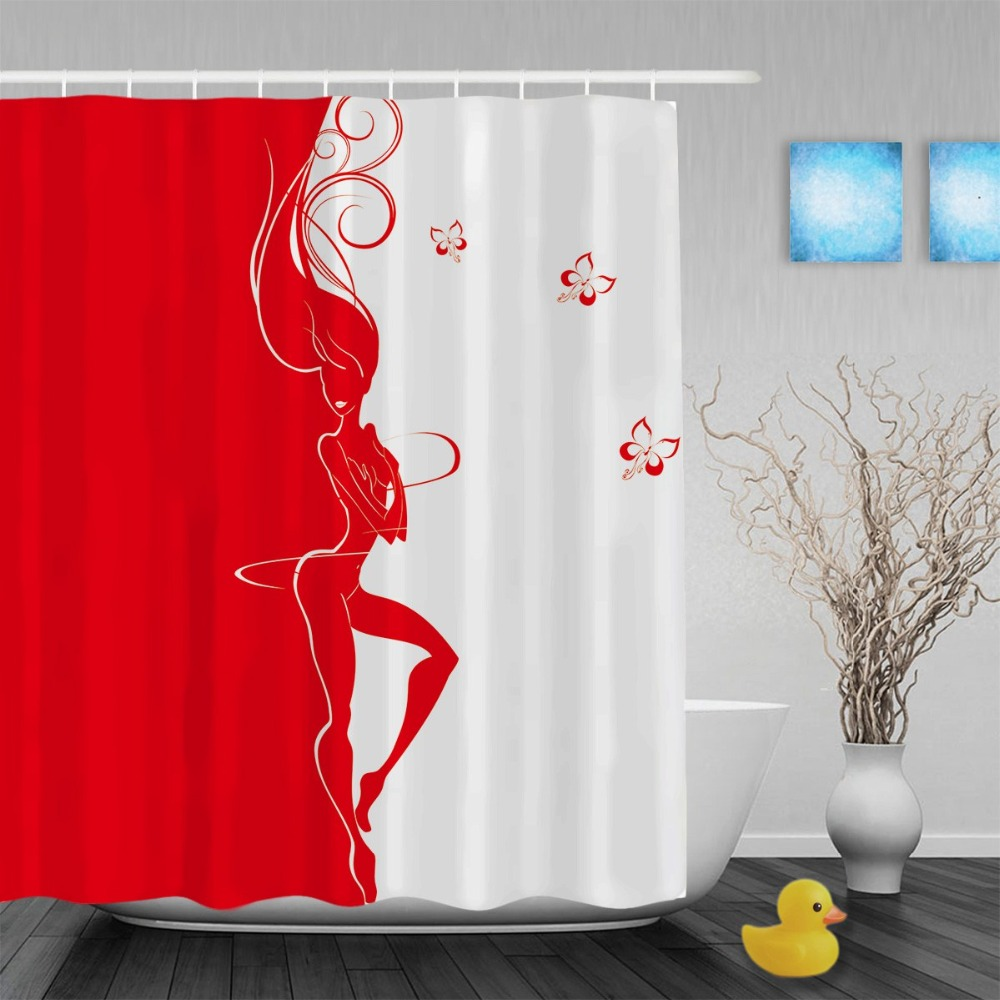 Adult curtain shower improbable!