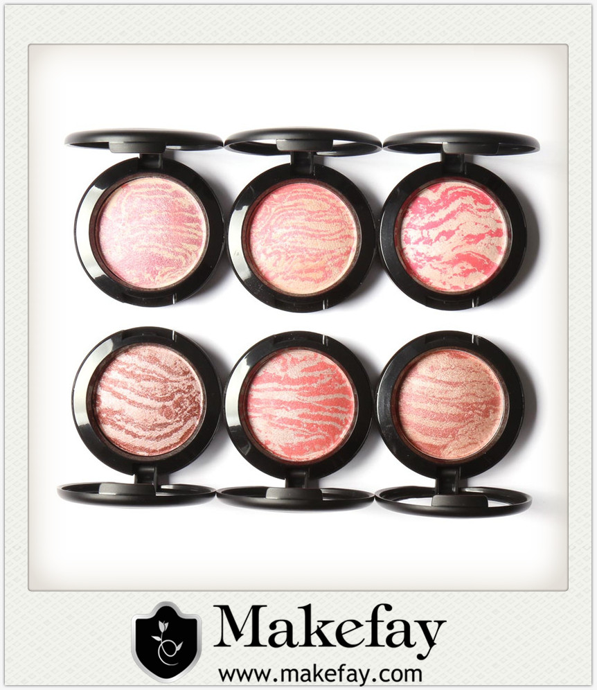 2017 Newest High Quality Pearlescent Blusher Makeup