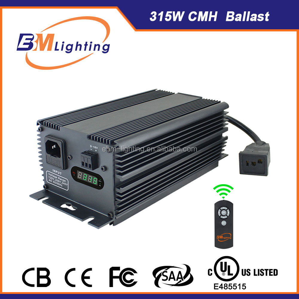 ceramic metal halide 315 watt cmh grow light ballast from ebm-lighting
