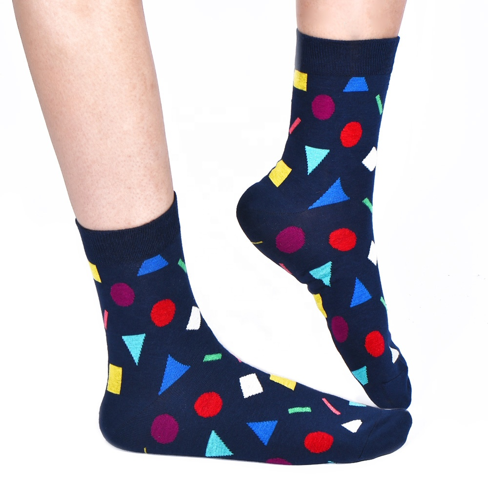 Happy men's cotton dress socks