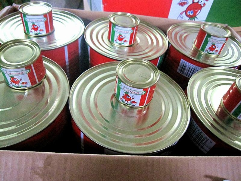 2200g+70g mixed packing canned tomato paste