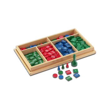 Stamp Game Addition Subtraction Multiplication Division Box Montessori Toys