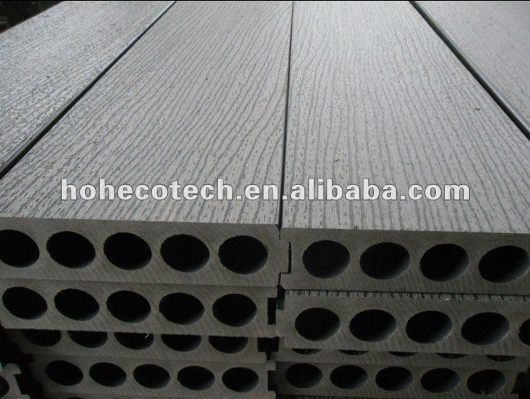 Embossing surface New model 200x50mm wood plastic composite decking/flooring board wpc deck tile timber