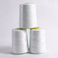 good polyester knot-less 100% spun polyester bag closing sewing thread