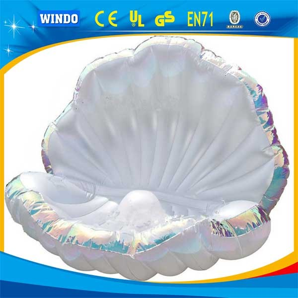 Inflatable Toy,Giant Inflatable Seashell Float, Pool Float Seashell Manufacturer