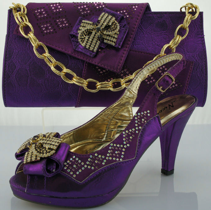 matching shoes and SB810 for lady Purple bags gdOngw