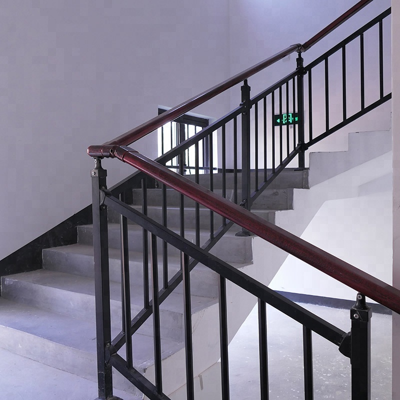 Outdoor Metal Stair Railing Wrought Iron Hand Railings