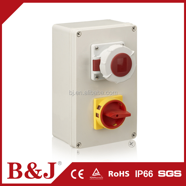 B&J Waterproof RAL7032 ABS Electric Meter Cover Junction Box Cheap Price