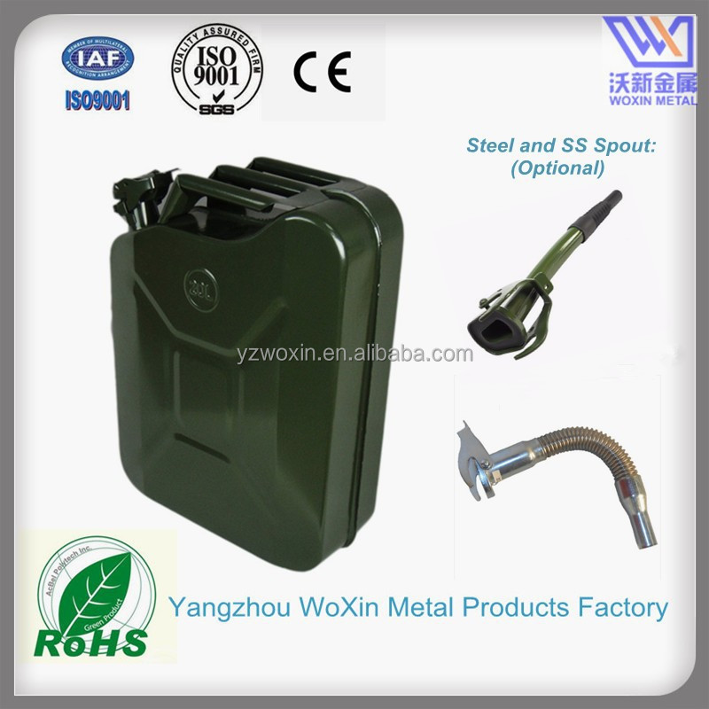 5Gallon Military Green Metal Gas Tank for fuel