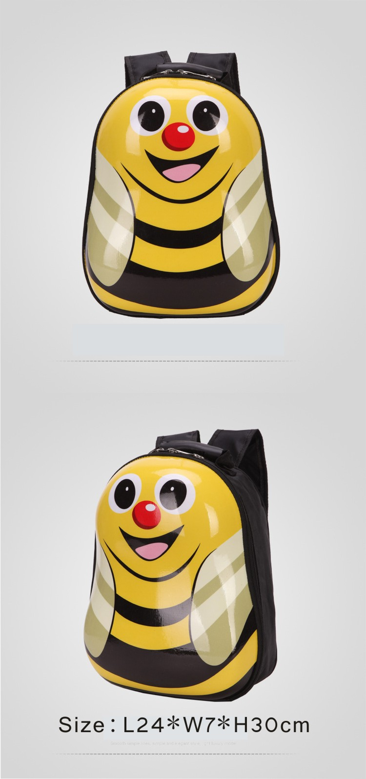 2019 Many Patterns PC Hardshell Kids Comic And Animation Backpack School Bag, Cartoon Kids School Bag