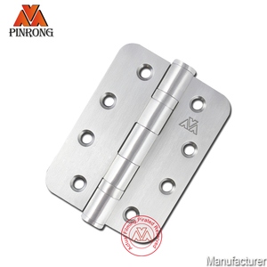 4 inch Stainless steel 1/4 and 5/8 radius door hinge for door hardware