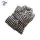 Ladies Soft Houndstooth Knit Shawl-Collar Long Plush night robe