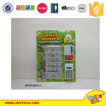Kids play game cashier toy set for promotion