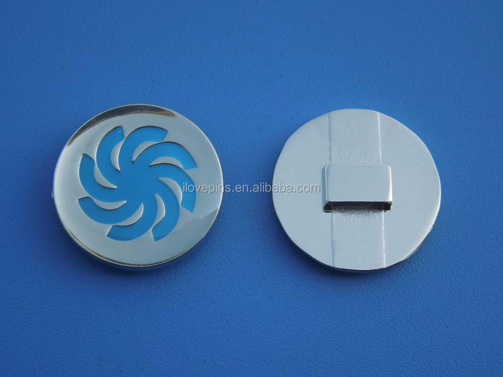 Custom Round Engraved Design Soft Enamel Metal Epoxy Pendant Charm for Bracelets and Shoe Charms