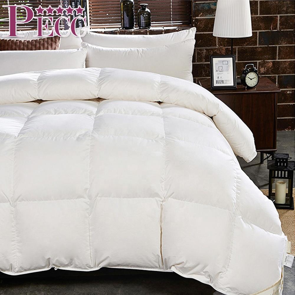 China Manufacturer Natural Comfort Down Feather Filled Comforter Duvet Goose