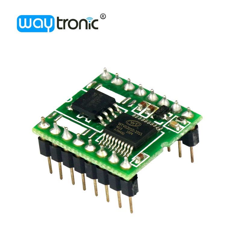WTV020M03 16M 32M флэш-память, небольшой Звуковой IC-чип для сигнализации