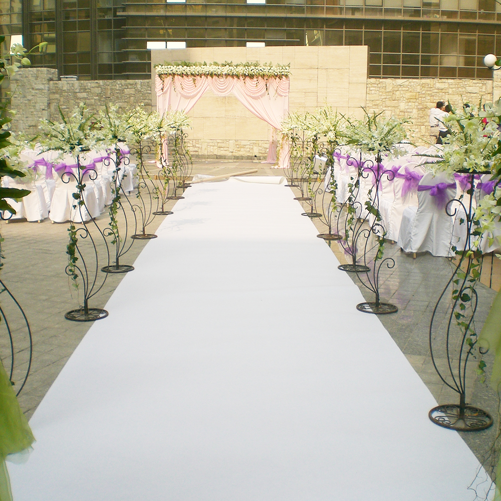 Aisle Runner For Wedding.Indoor Outdoor Aisle Runner Wedding Exhibition Event Decorations White Red Carpet Roll Coated Film Buy Rib Carpet For Wedding Aisle