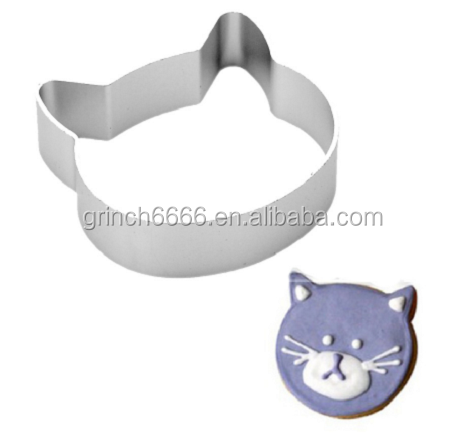 quality Cat Head Shaped Christmas Kitchen Tools and cake tools
