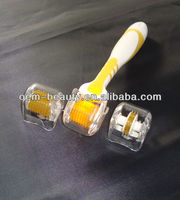 540/200/75 needles 590nm Yellow light LED Dermaroller to improve immunity ability for the skin (FB-L001)