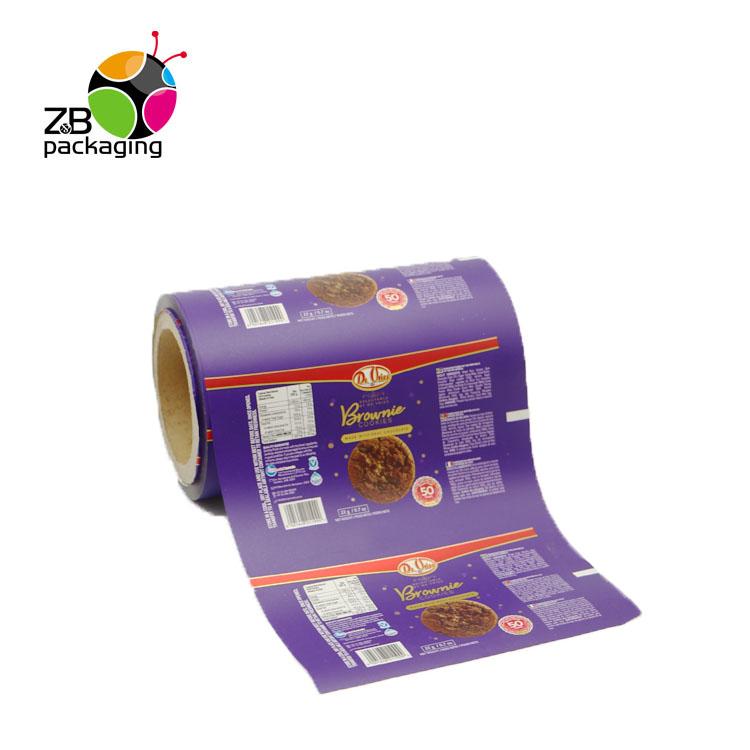 China Top Grade Matte/UV Verpackung Kunststoff Rolle Biologisch Abbaubar Laminieren Pouch Film für Kekse Kartoffel Chips
